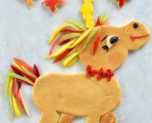 food art unicorn